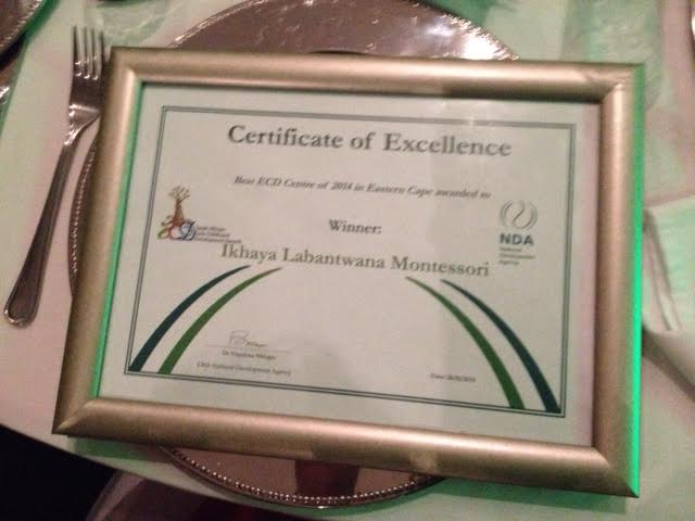 Ikhaya Labantwana Montessori - Best ECD Centre in the Eastern Cape - 2014