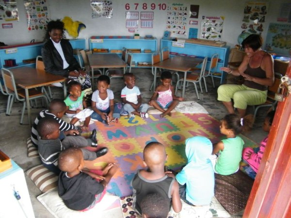 Montessori, rural education, coffee bay, early childhood development