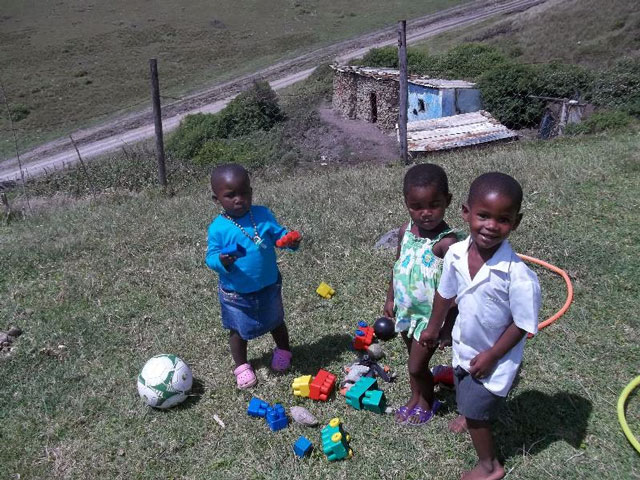 Ikhaya Labantwana Montessori and 2012!
