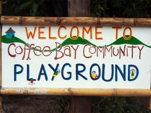 Sustainable Coffee Bay - Community playground